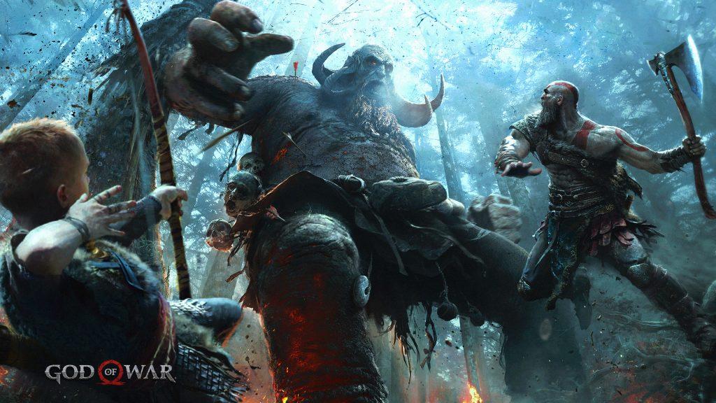 Immagine dal gioco God of War 4