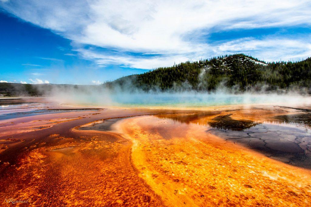 Foto del Supervulcano di Yellowstone