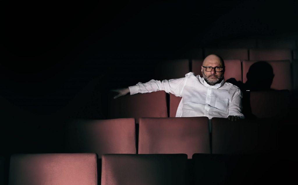 L'autore e regista Mario Gelardi al Nuovo Teatro Sanità.