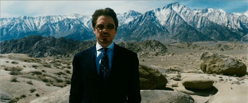 Foto di Robert Downey Junior da Iron Man